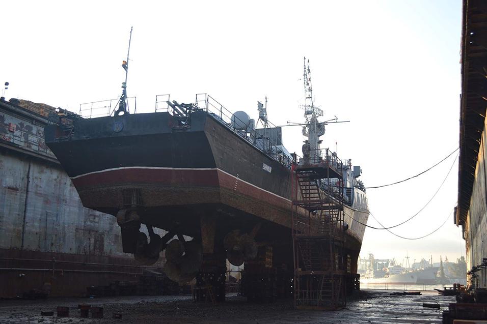 """ВМС Украины спишут корвет """"Винница"""" и два рейдовых катера – фото"""