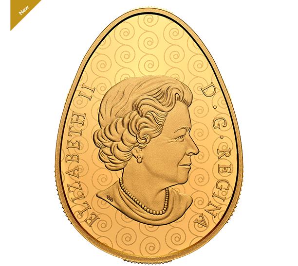 Солнечный праздник весны. В Канаде продают золотые монеты в форме писанки: фото, видео