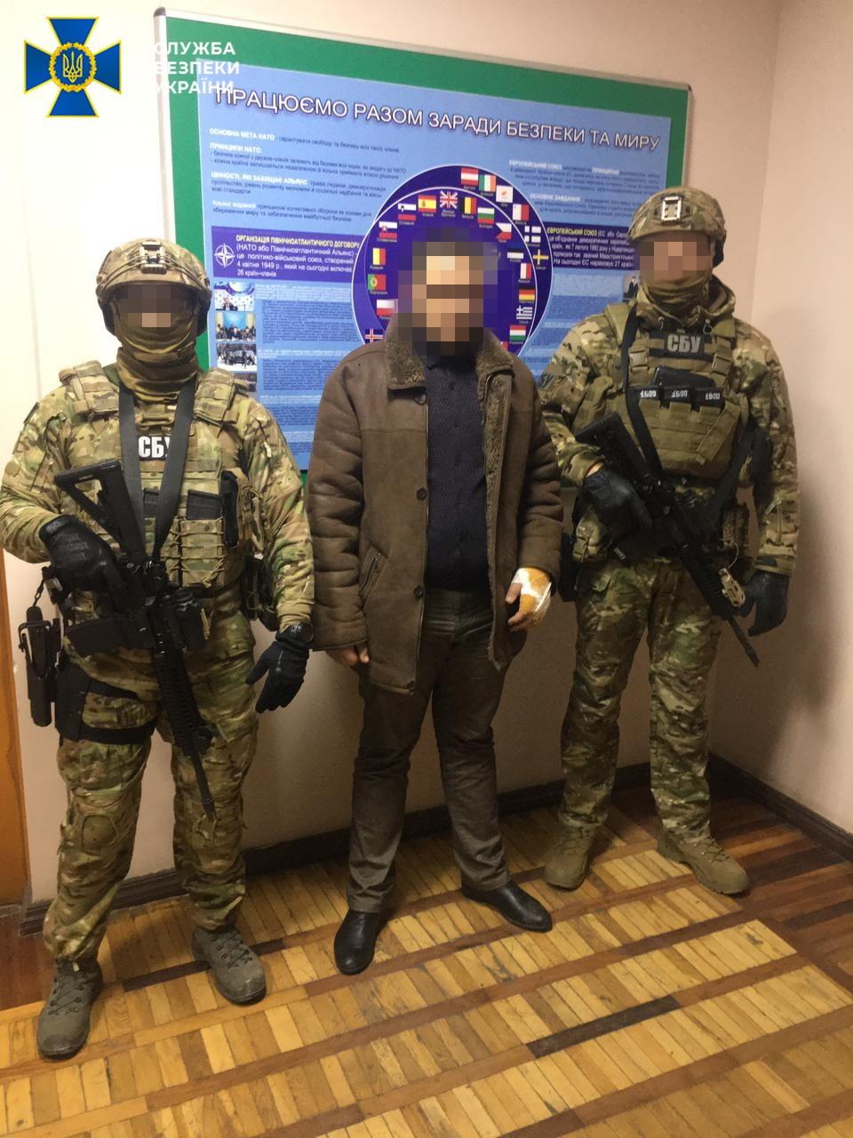 СБУ: Контрразведка взяла под Одессой главаря ДРГ луганских боевиков – видео допроса