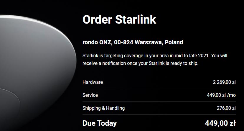 Стало відомо, коли інтернет Starlink може з'явитися в Україні
