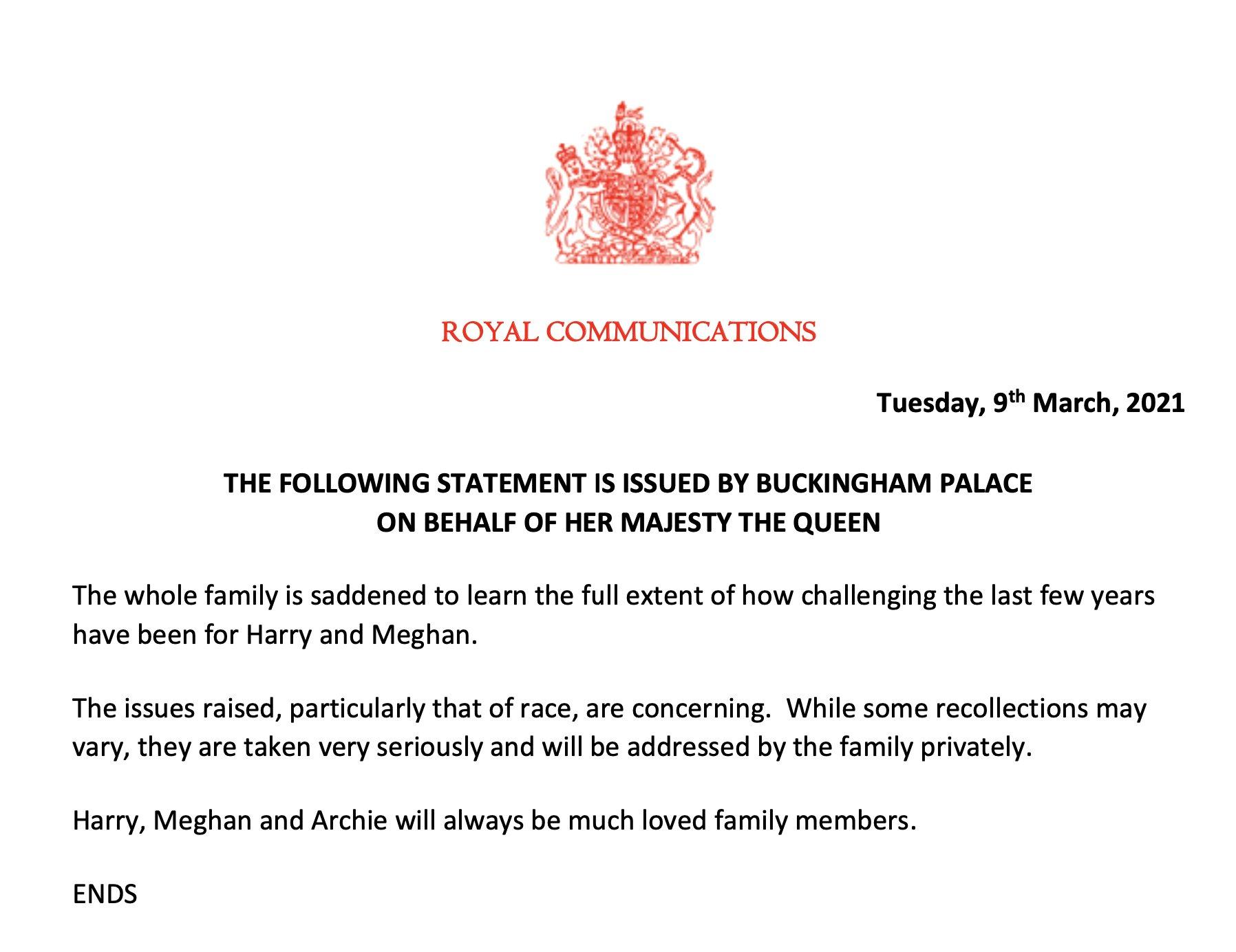 Расовий скандал у королівській родині Великої Британії. У Букінгемському палаці засмучені