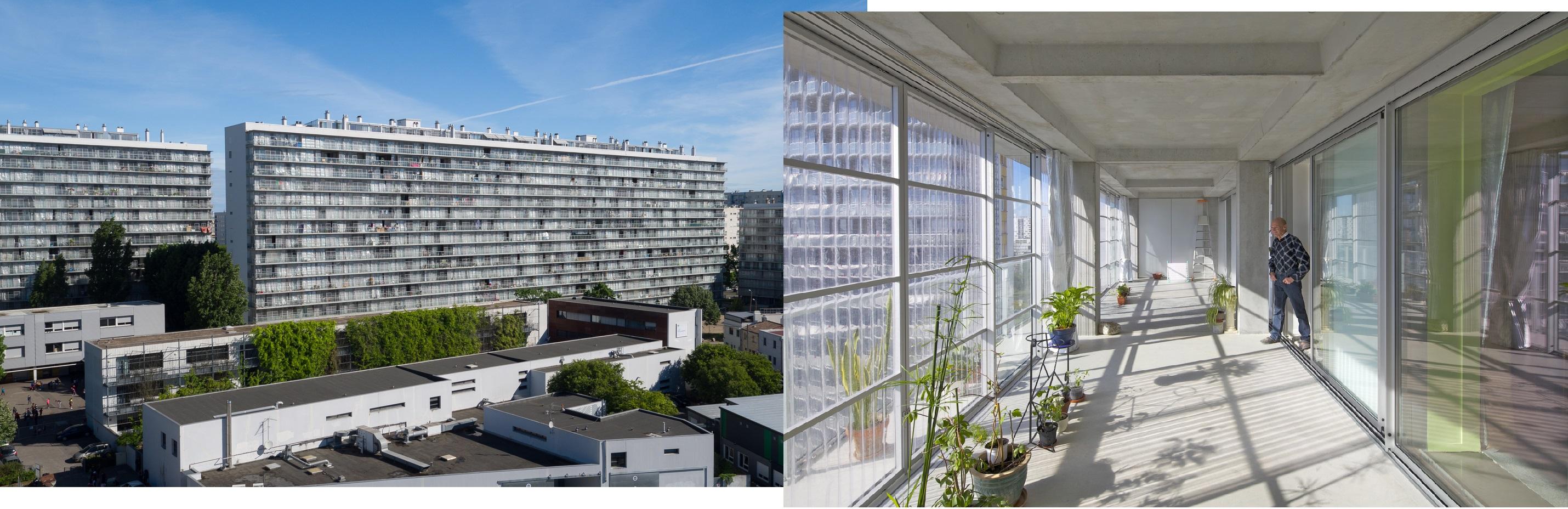 Реставрация здания в Гранд-парке, Бордо, фото: официальный сайт архитектурного бюро Lacaton & Vassal