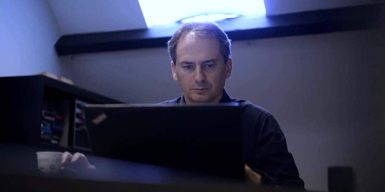 Христо Грозев в фильме для European Press Prize