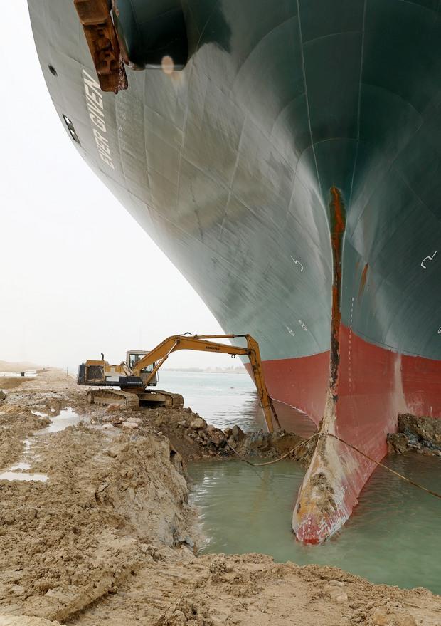 Фото: пресс-служба Суэцкого канала