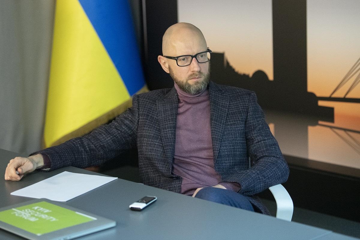 Арсений Яценюк: Байден уже сказал Зеленскому все, что хотел