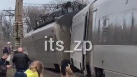 Поезд №732 Интерсити Киев – Запорожье сошел с рельсов. В результа…