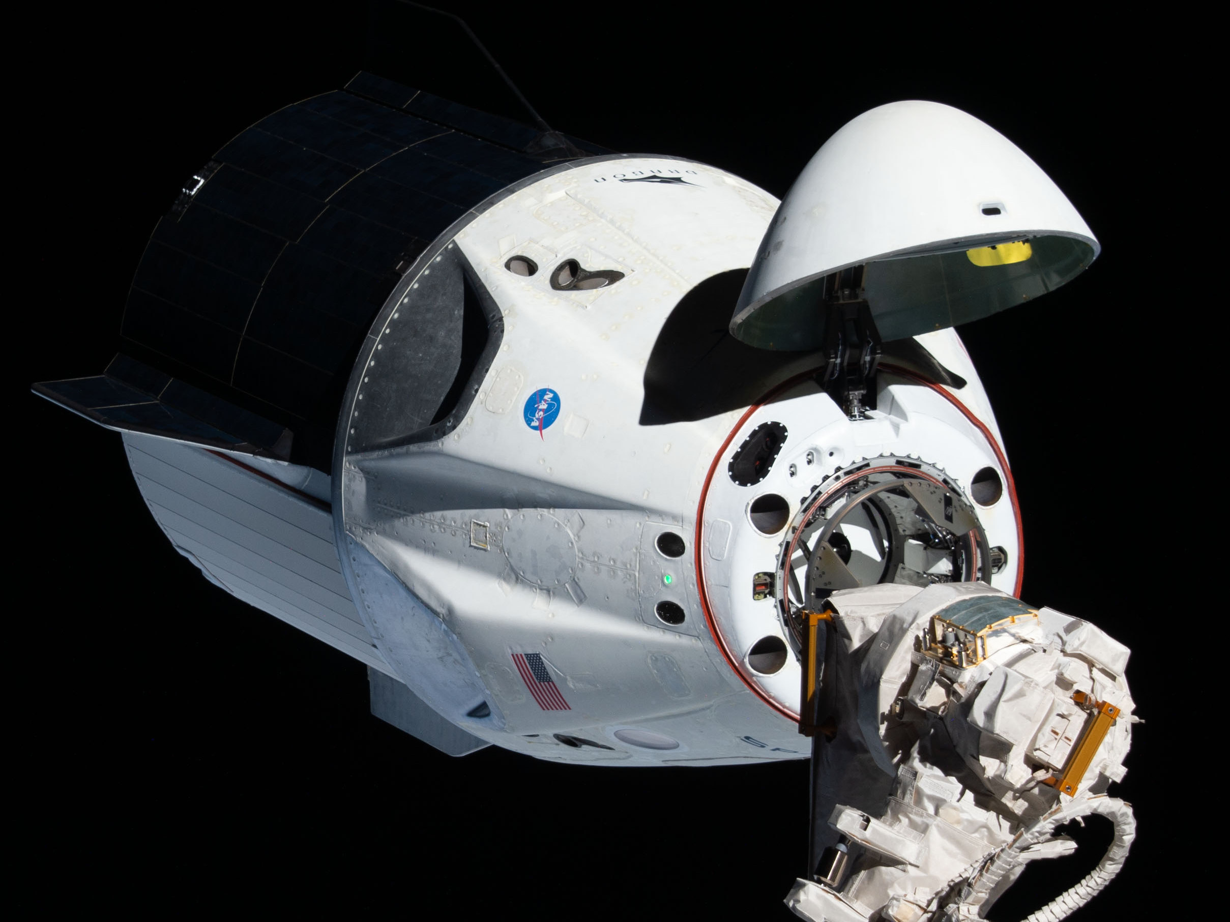 Фото: SpaceX/NASA