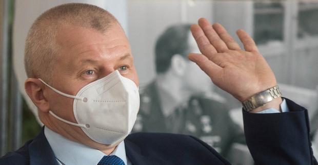 Олег Новицкий (фото — NASA, GCTC/Andrey Shelepin)