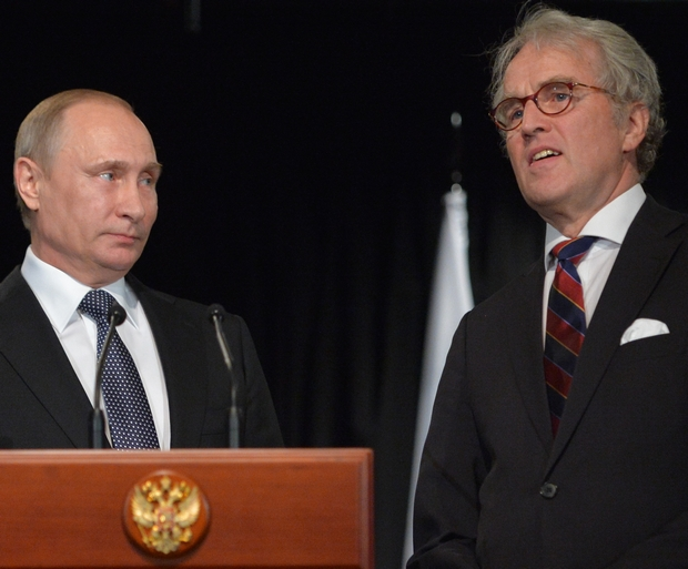Владимир Путин и Рюдигер фон Фрич (фото – ЕРА)