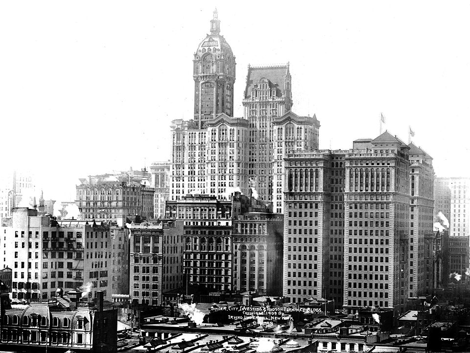 Singer Building, фото: Библиотека Конгресса США
