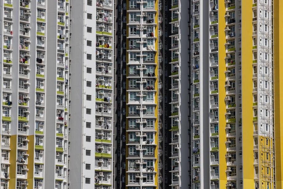Жилые здания в Гонконге, фото: EPA.com