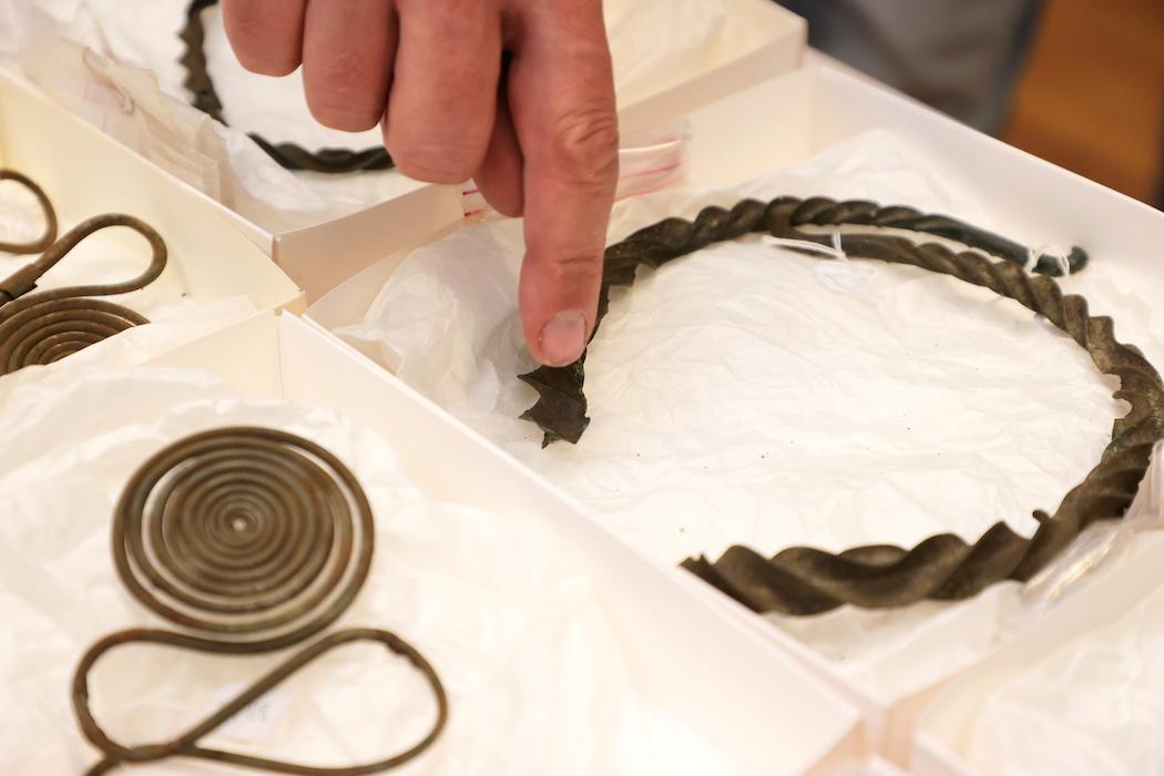 2500 років. У Швеції картограф знайшов скарб прикрас бронзового століття: відео, фото