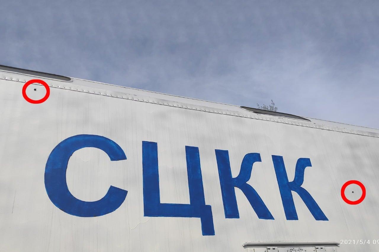 """""""Безпрецедентне порушення"""": бойовики на Донбасі обстріляли автомобіль спостерігачів СЦКК"""