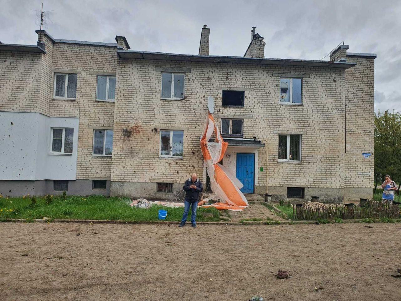 В Барановичах на жилой район упал самолет ВВС Беларуси, два пилота погибли – видео