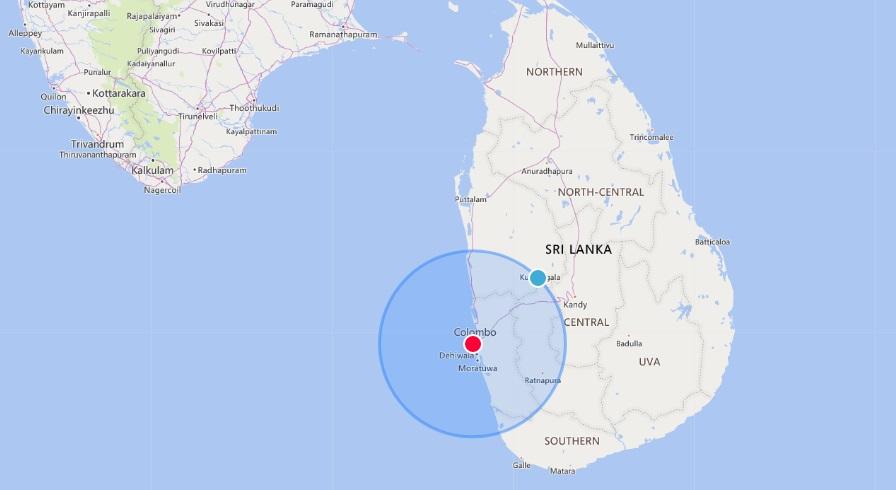 У берегов Шри-Ланки после 12 дней пожара затонуло судно с 25 тоннами химикатов