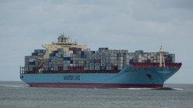 Контейнерный гигант Maersk будет работать только в контейнером те…