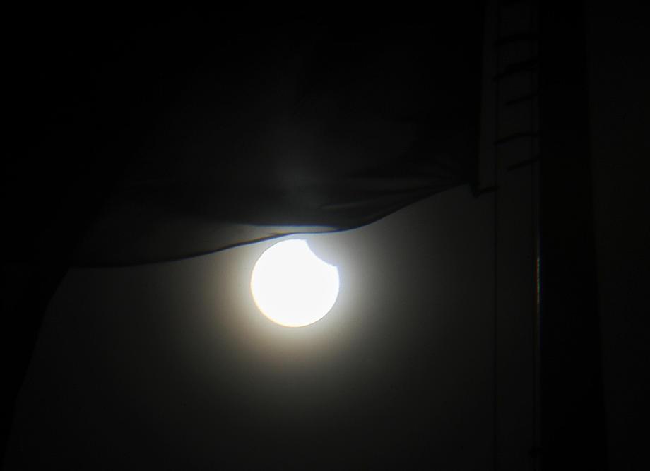 #новости | Черная тень на Земле. Как выглядело солнечное затмение из космоса – фото - новости Украины, Мир
