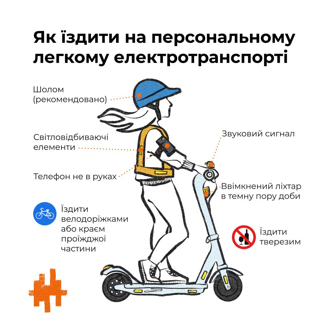 Как спасти пешеходов от самокатов, а их владельцев – от колес автомобилей. 5 идей