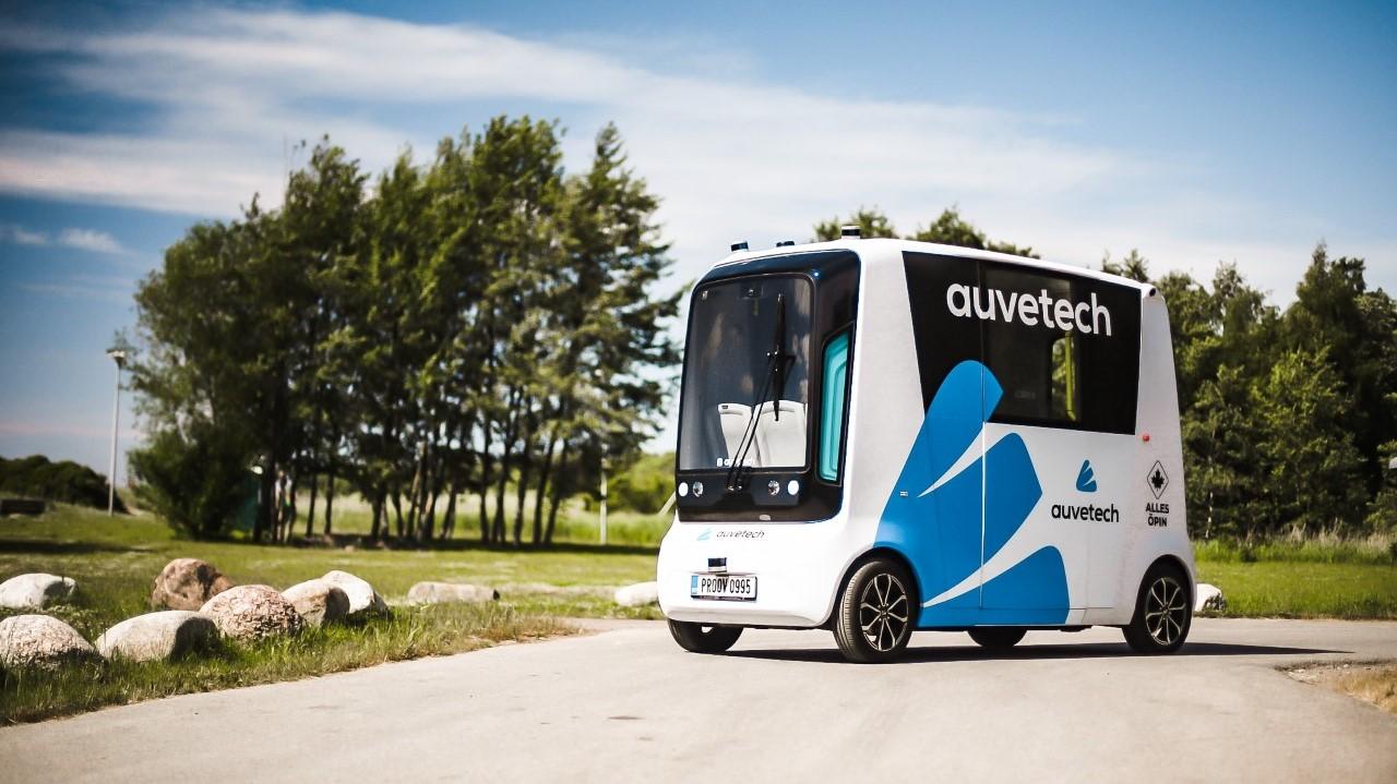 Впервые в мире. В Эстонии запустят беспилотные шаттлы на водородном топливе: видео