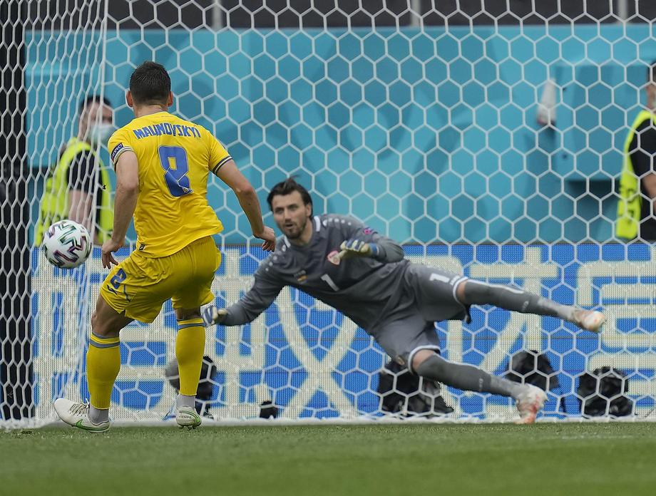 Збірна України обіграла Північну Македонію на Євро-2020 з рахунком 2: 1 – фото