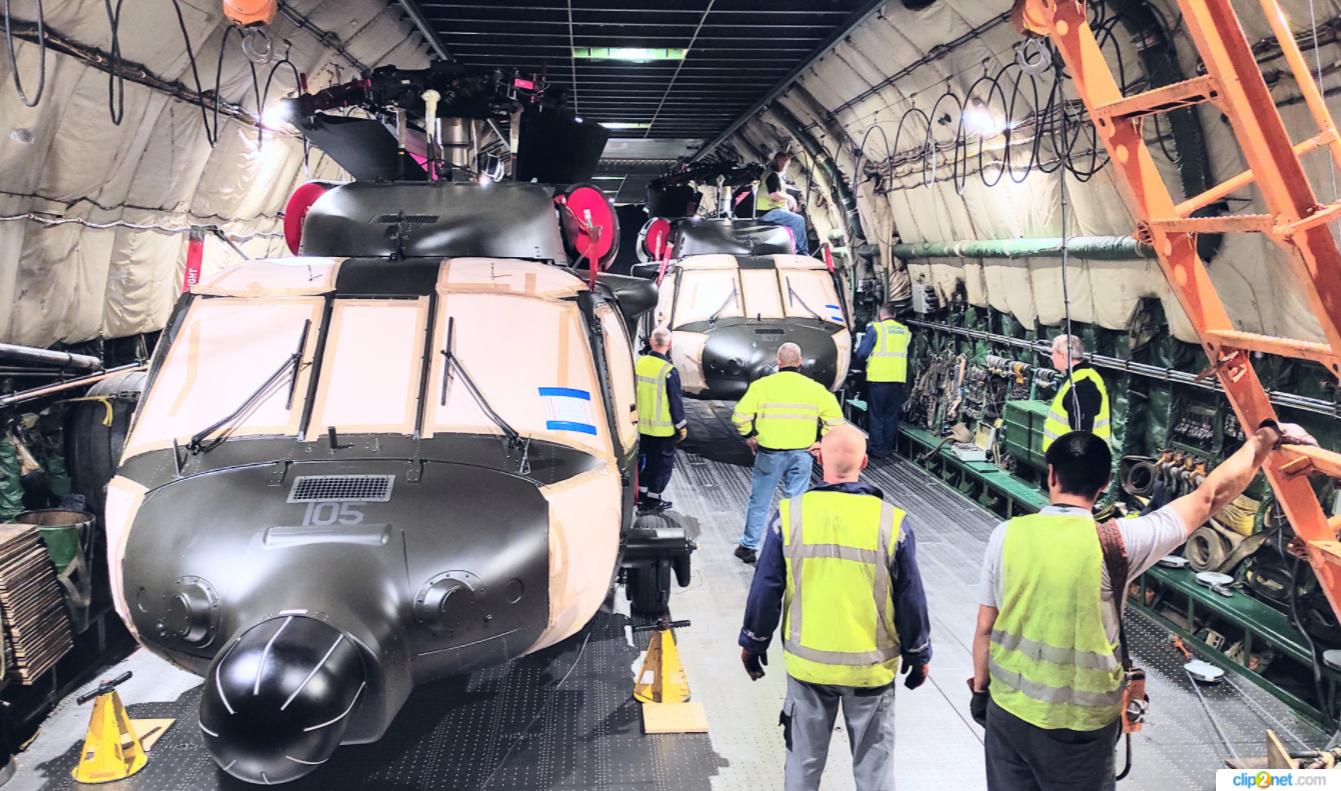 """""""Руслан"""" перевез из Польши на Филиппины вторую партию боевых вертолетов Black Hawk – фото"""