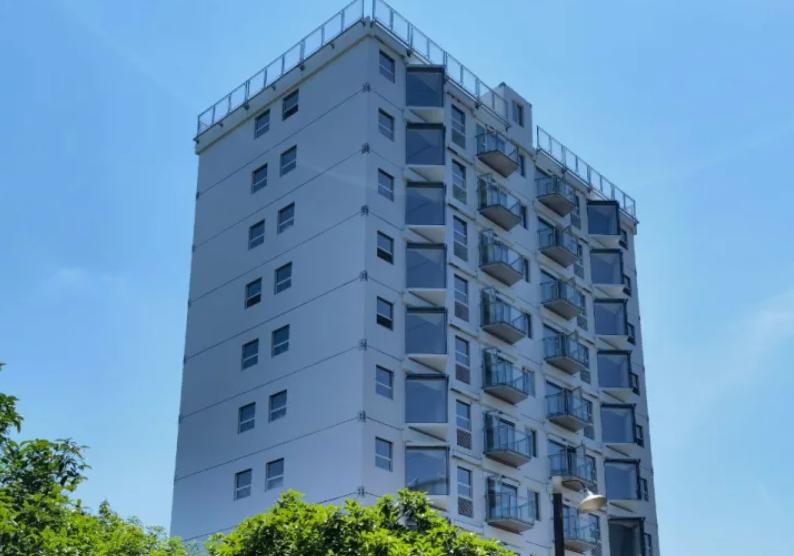 В Китае построили 10-этажный дом за сутки: видео