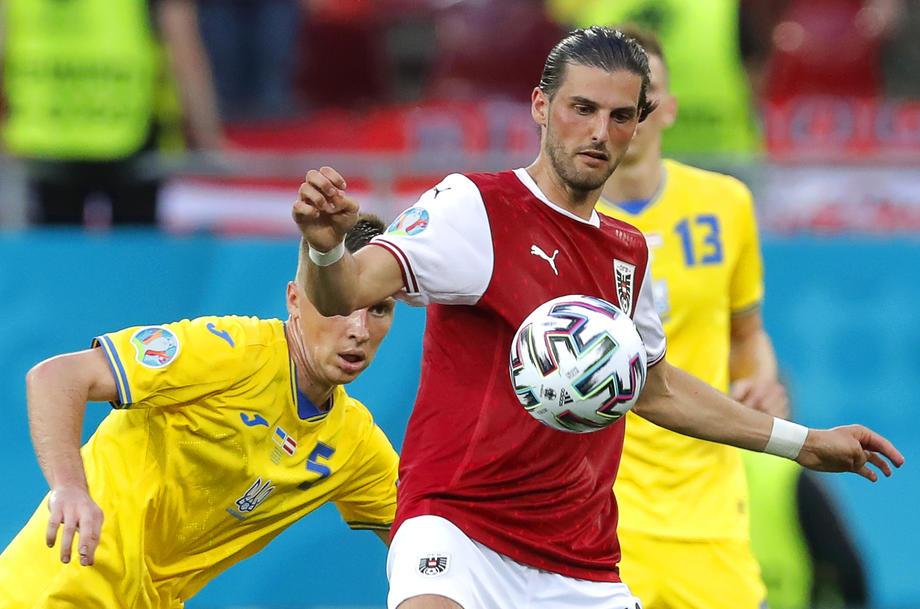 Сборная Украины проиграла Австрии на Евро-2020 со счетом 0:1 – фото