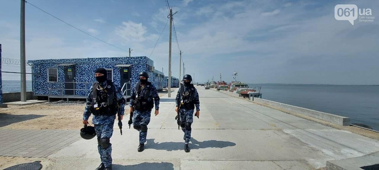 В Бердянске на деньги США строят городок Морской охраны по стандартам НАТО: фото