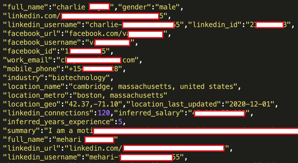 Украденные данные пользователей LinkedIn