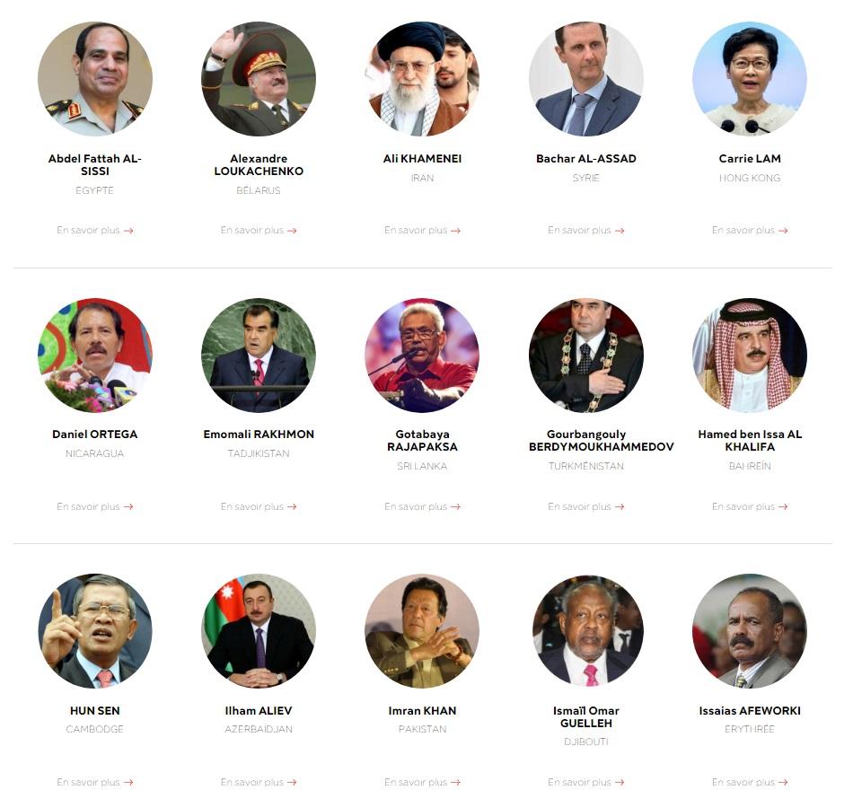 """Путин и Лукашенко попали в список """"врагов свободы прессы"""" – RSF"""