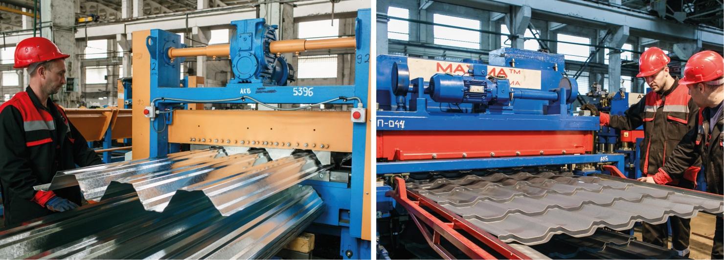АВ металл групп увеличила производство в сегменте кровельных и фасадных материалов