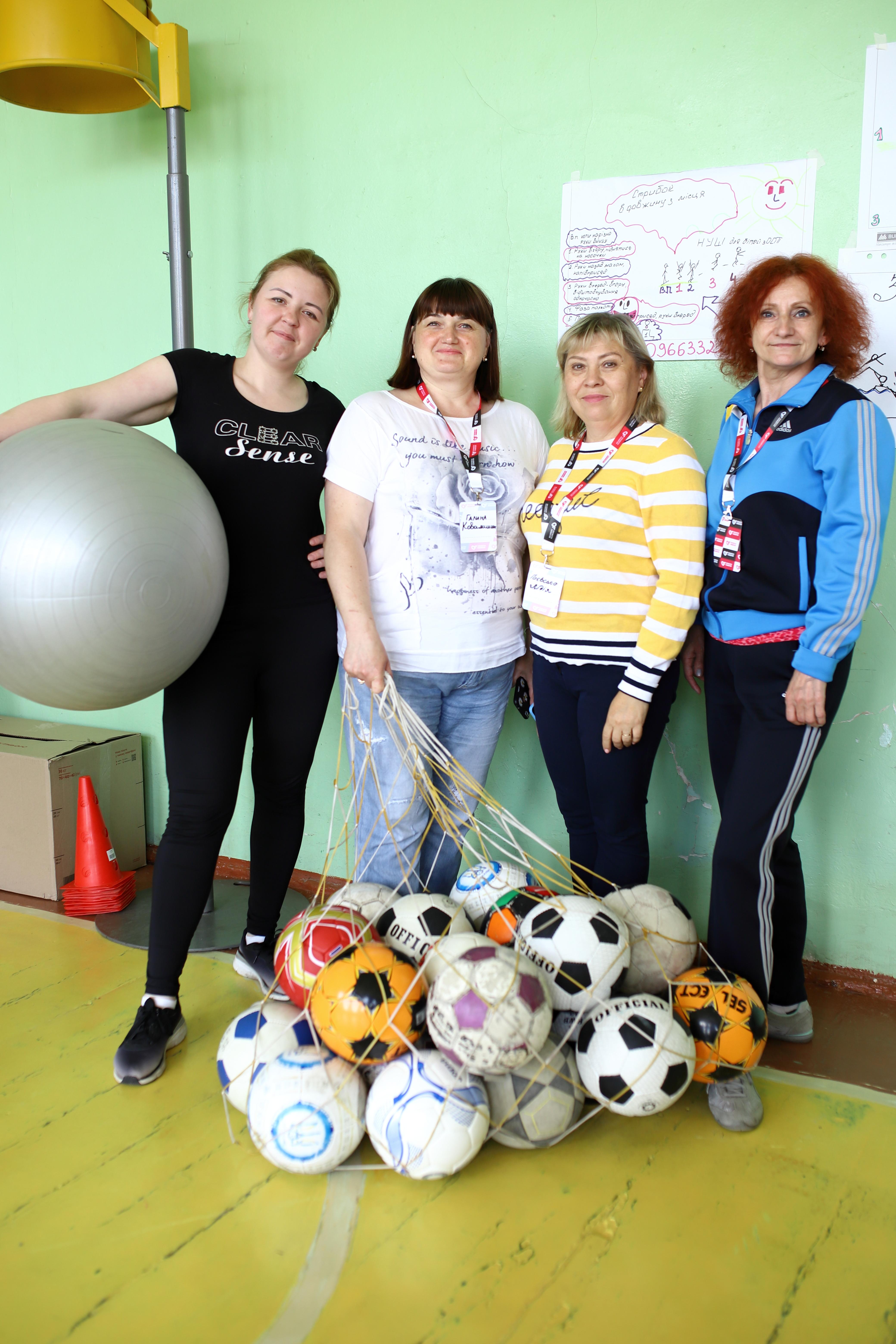 Инклюзия на уроках физкультуры: во Львове прошел тренинг для учителей на актуальную тему