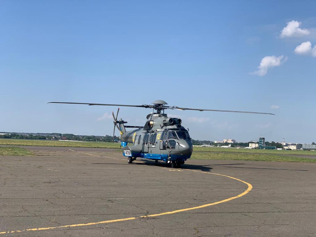 Нацгвардия получила для выполнения боевых задач вертолет от Airbus Helicopters: видео