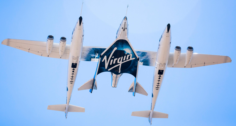 Літак-разгощік з ракетопланом (натисніть на фото, щоб збільшити його)