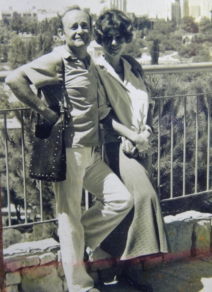Слава Курилов з дружиною Оленою. Фото з особистого архіву
