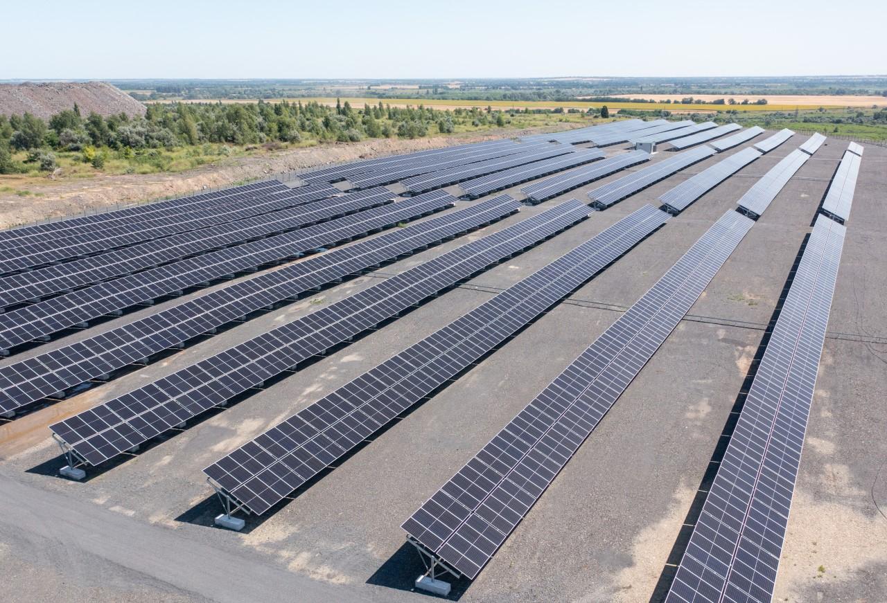 Декарбонизация от Жеваго. Ferrexpo запустила солнечную электростанцию: фото