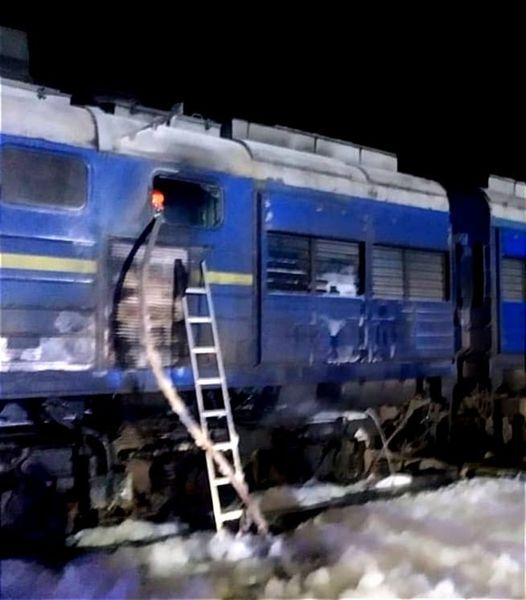 Под Николаевом горел пассажирский поезд Интерсити Киев-Херсон. Обошлось без жертв