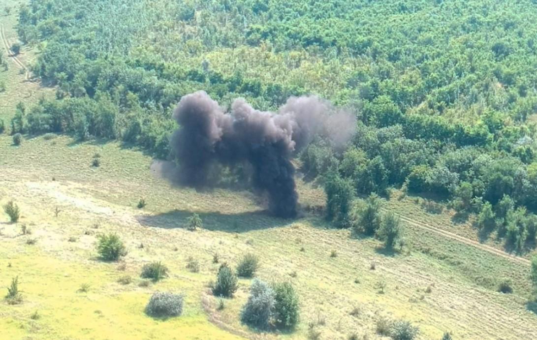 В Николаевской области нашли 502 снаряда времен прошлых войн. Их взорвали – фото