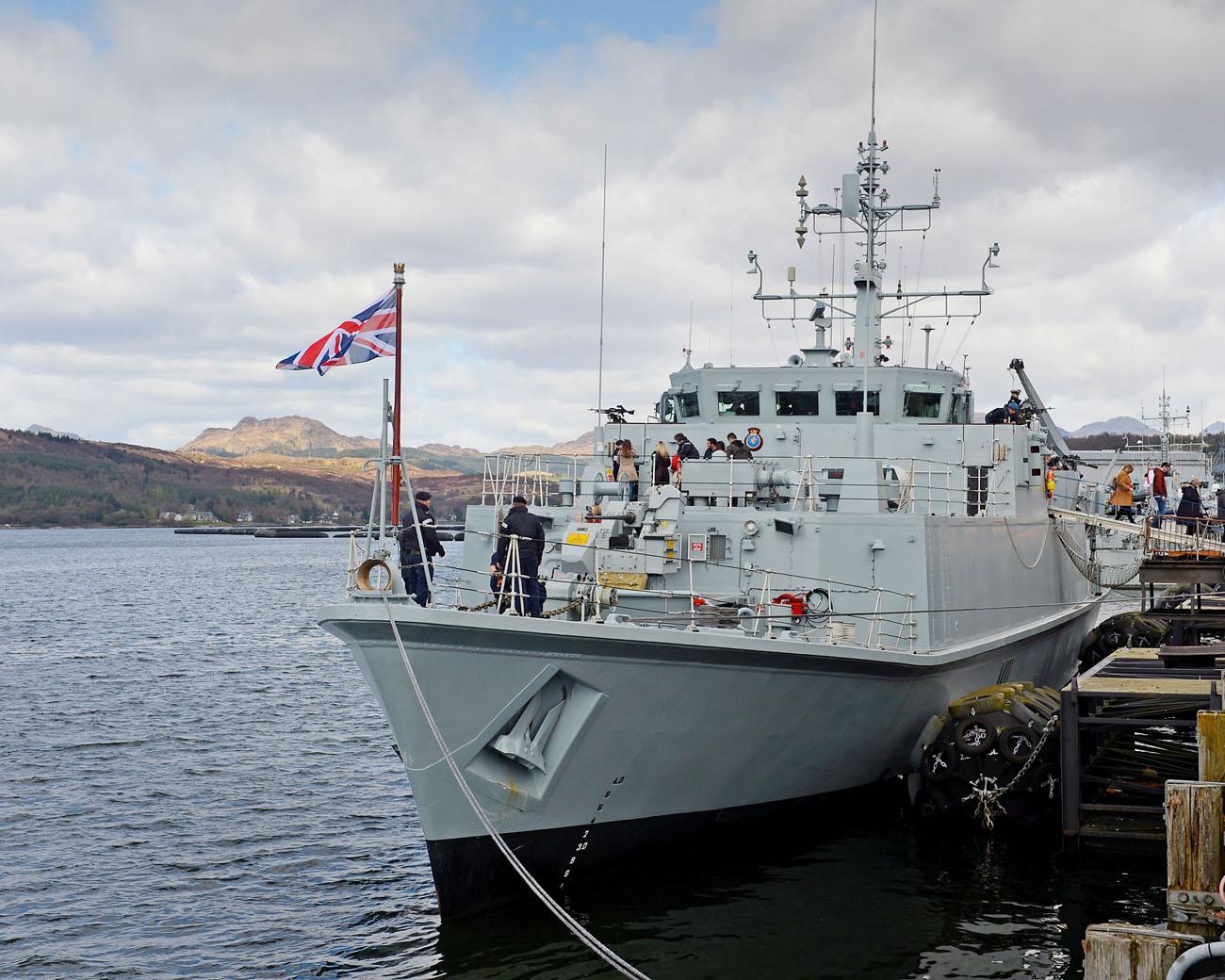 Великобритания передаст Украине два противоминных корабля – HMS Blyth и HMS Ramsey: фото