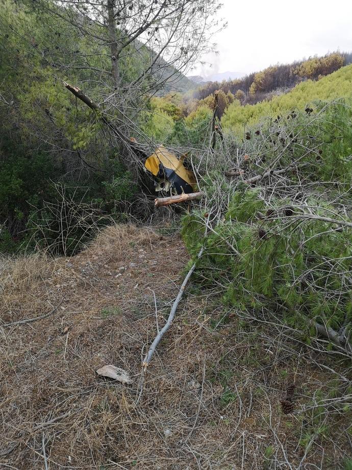 Пожары в Греции. На острове Закинф разбился самолет спасателей – фото