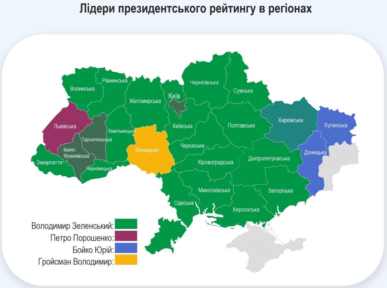 За Зеленского готовы голосовать 50% украинцев возрастом до 30 лет – исследование Рейтинга