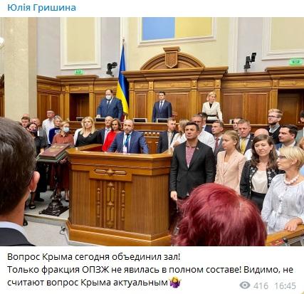 ВР проголосовала за обращение к ЕС, НАТО, ПАСЕ, ОБСЕ, ООН о Крыме 9