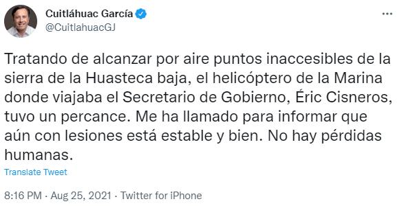 В Мексике на взлете упал вертолет Ми-17: видео