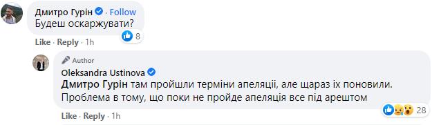 Нардеп Устинова заявила, что на ее квартиру наложили арест, а машину объявили в розыск