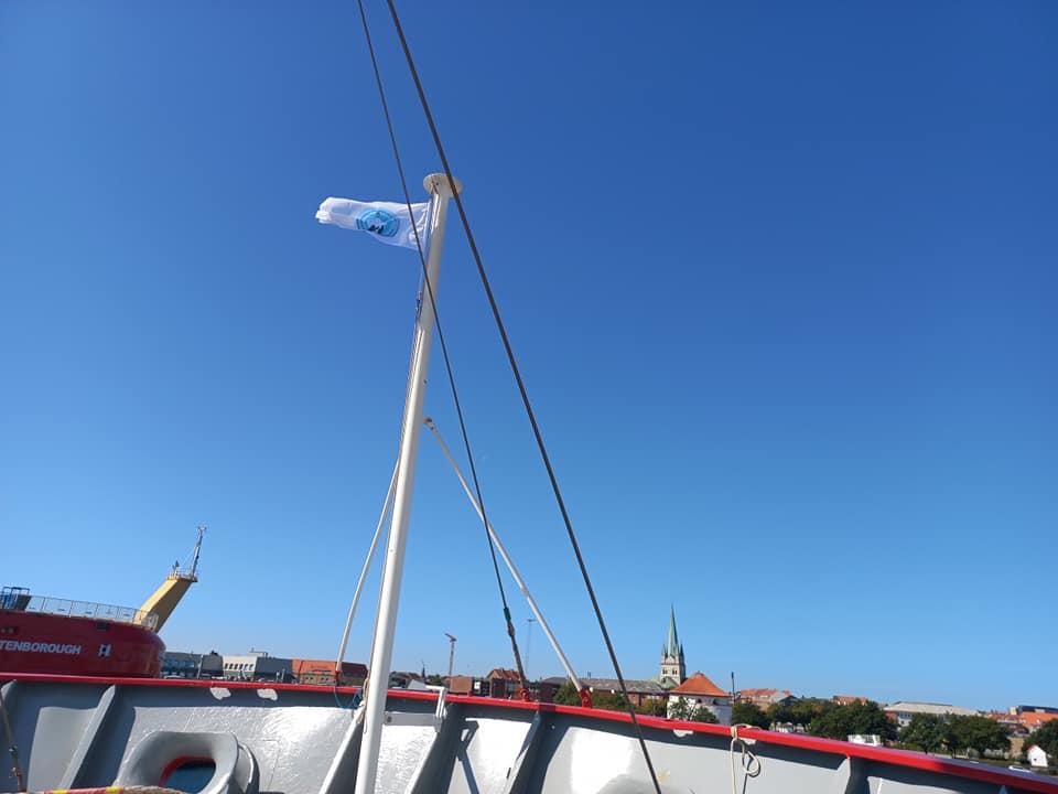 Над ледоколом James Clark Ross подняли украинский флаг. Судно готово к переходу в Одессу