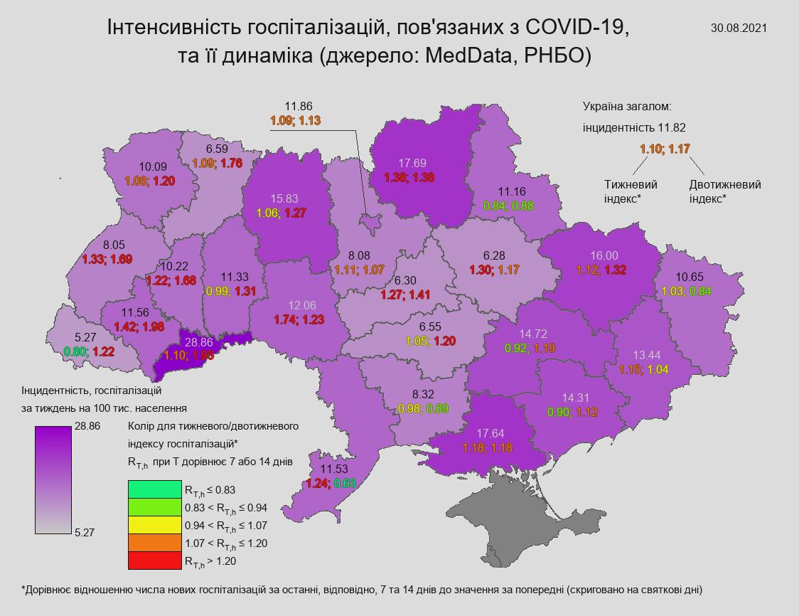 Коронавирус. Самая угрожающая ситуация наблюдается в Черновицкой области – НАН