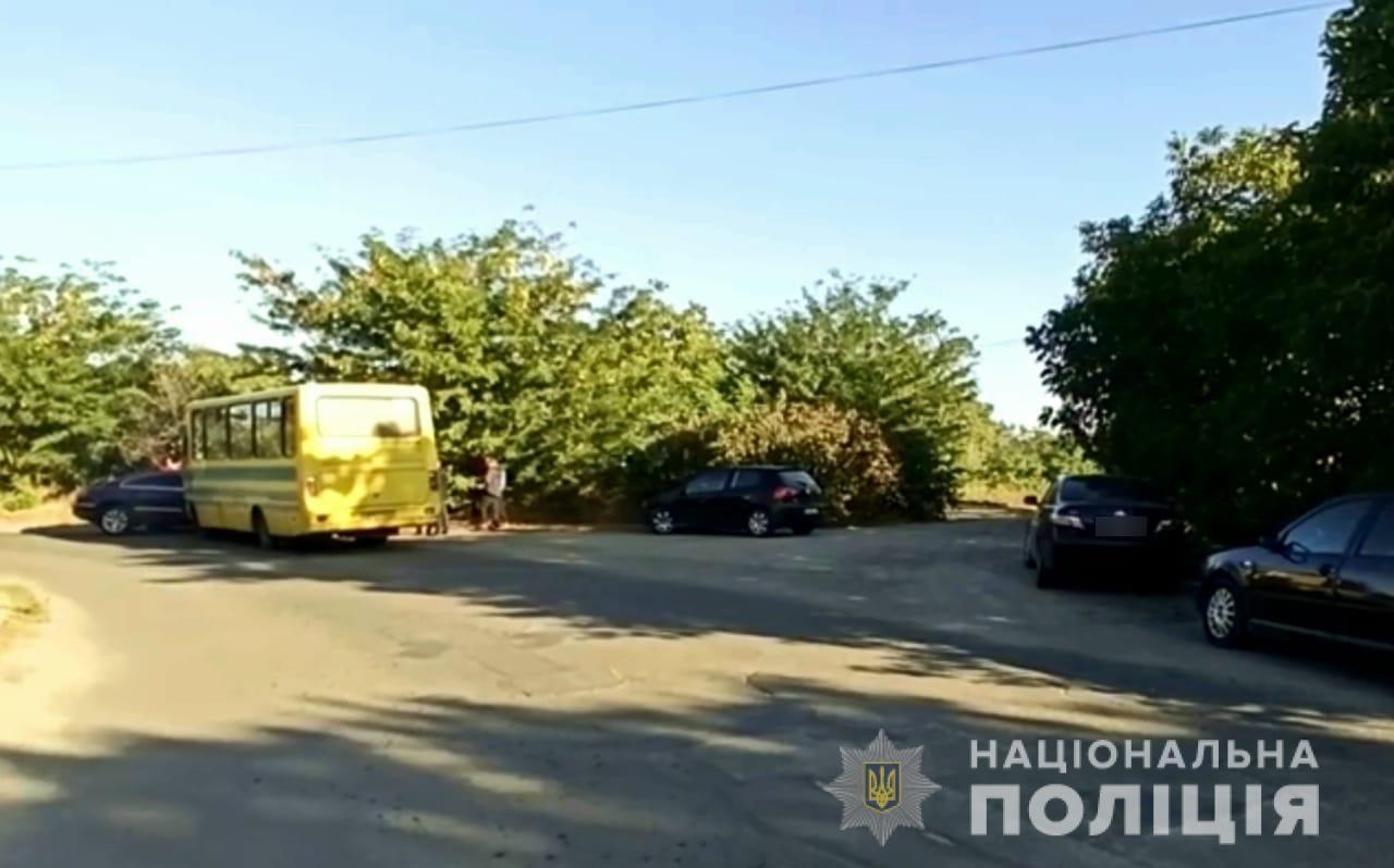 Полиция: Мэр Вознесенска стал участником ДТП с пассажирским автобусом – фото