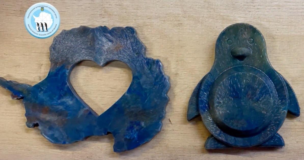 Украинцы в Антарктиде будут делать сувениры из пластиковых отходов: фото