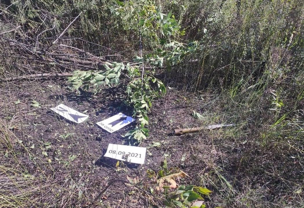 Боевики на Донбассе дистанционно заминировали позиции ВСУ противопехотными минами: фото