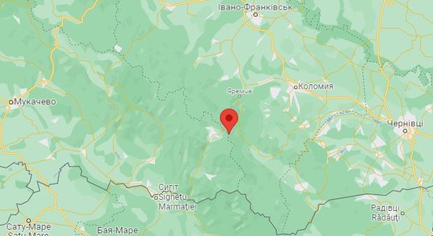 Вороненко на карте района